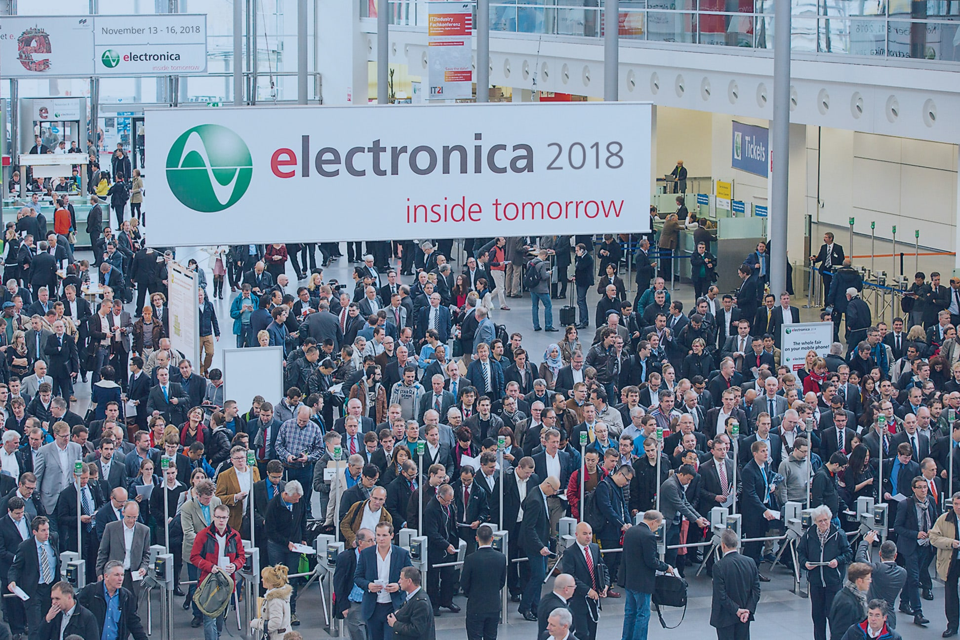 Sl Power Electronics We What Matters Repair Center Inc Specialize In Industrial Electronic Exhibits At Electronica 2018
